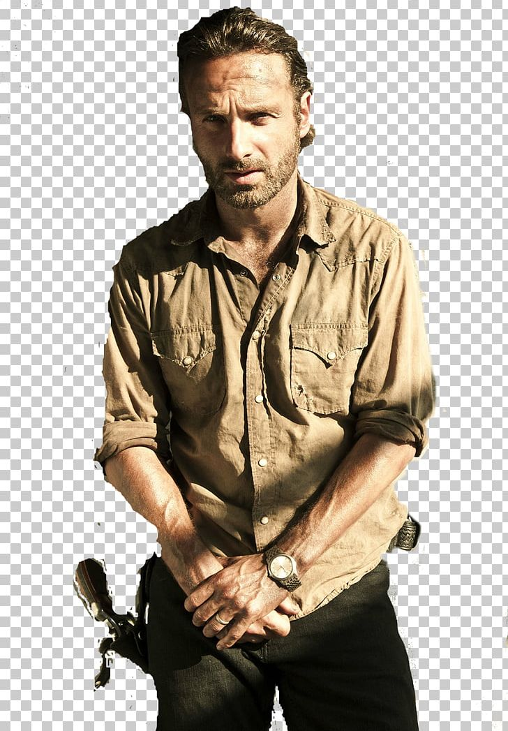 Andrew Lincoln Rick Grimes The Walking Dead Carl Grimes Negan PNG.