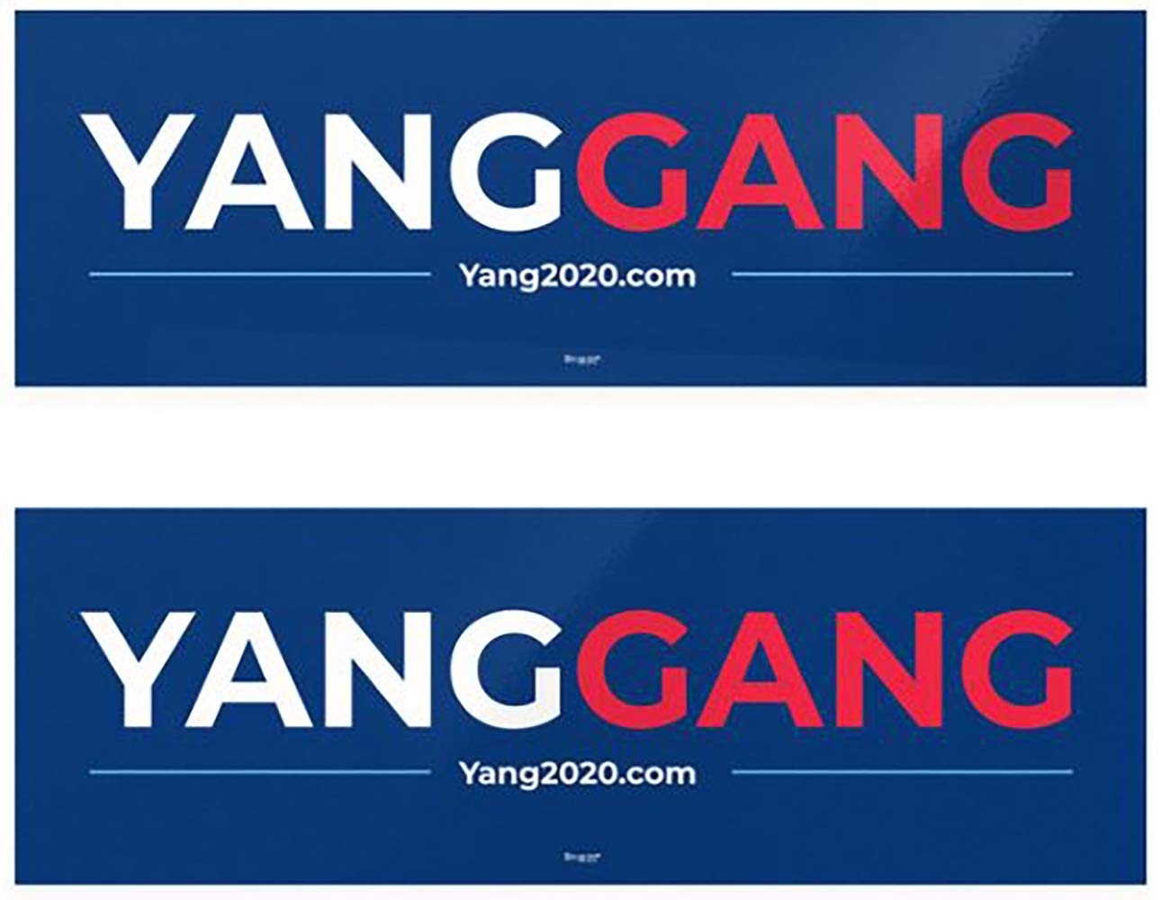 Amazon.com: Andrew Yang Yang Gang Official Bumper Sticker.