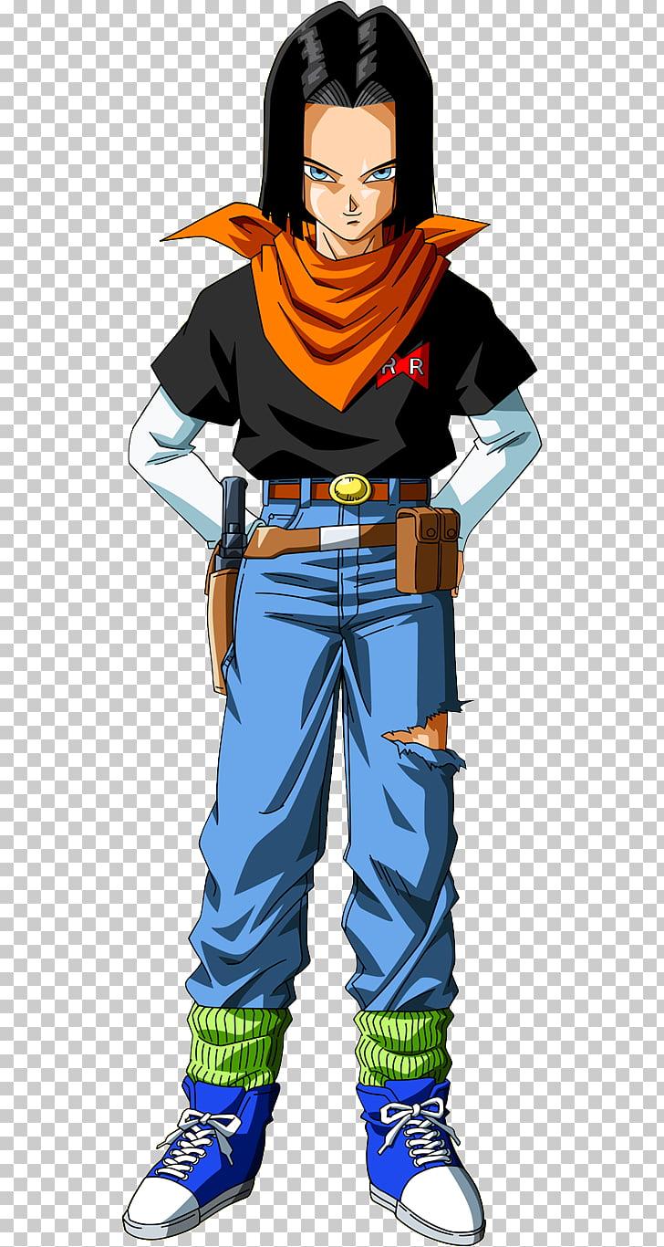 Android 17 Android 18 Goku Doctor Gero Vegeta, goku PNG.