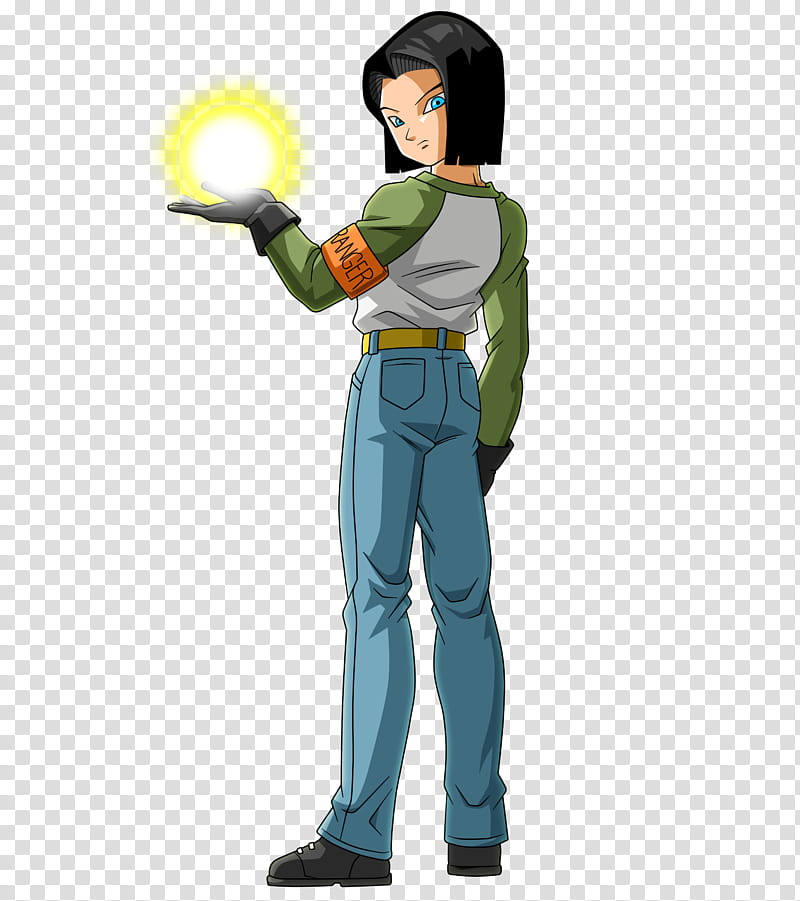 Android DBS, Dragonball Android transparent background PNG.