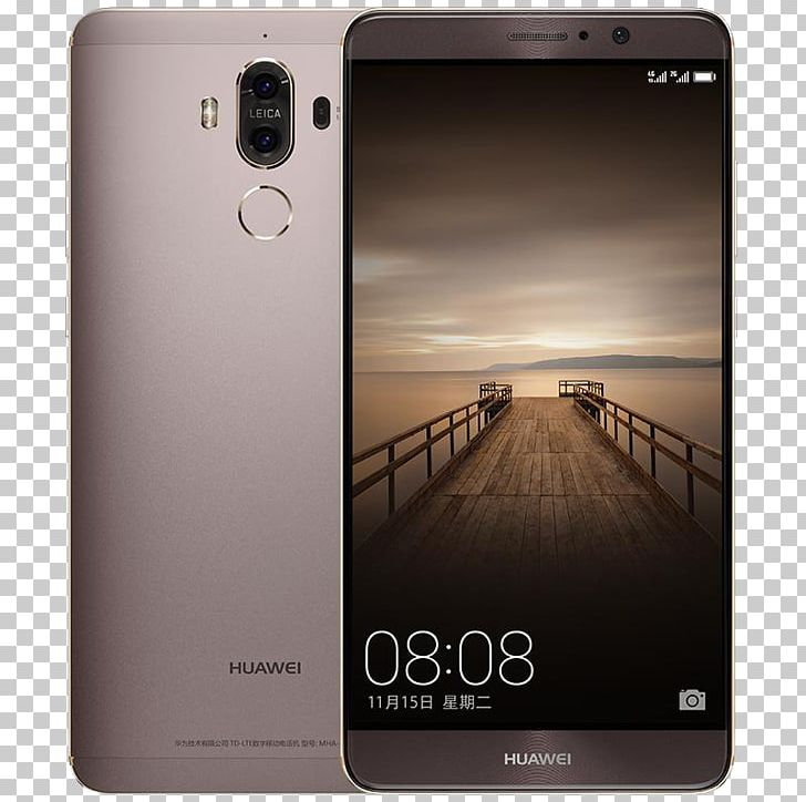 Huawei Mate 9 Smartphone 4G Android PNG, Clipart, Cell Phone.