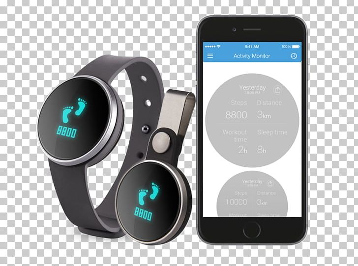 IHealth Edge Activity Tracker Smartwatch Android Sleep PNG.