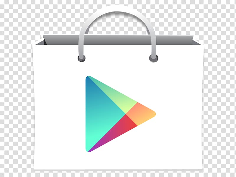 Google Play Android App store, now button transparent.