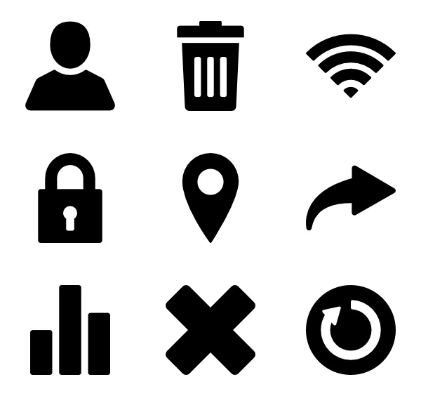 Android App 200 premium icons (SVG, EPS, PSD, PNG files).