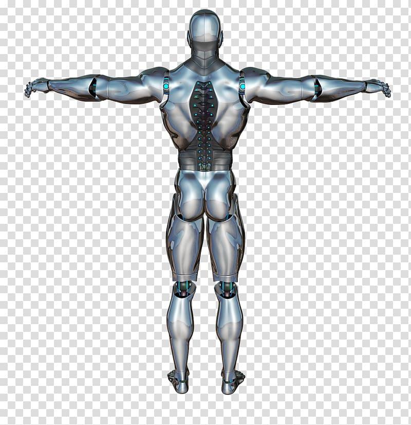 Robotics Cyborg Android Autonomous robot, Cyborg transparent.
