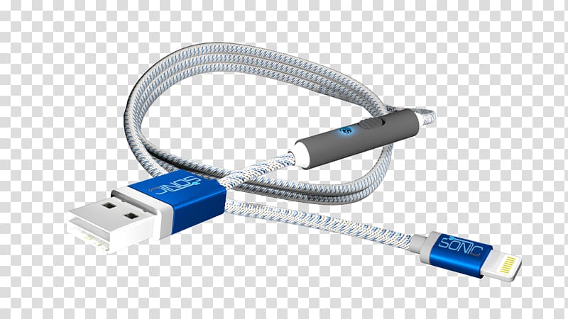Battery charger iPhone Lightning Electrical cable USB, USB.