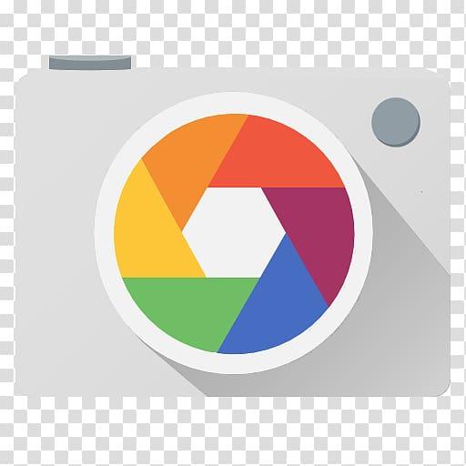 Multicolored camera icon illustration, Google Camera Android.