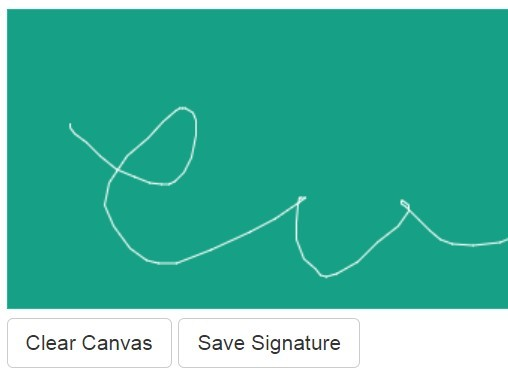 jQuery Signature Pad Plugins.