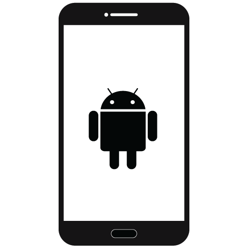 Android clipart icons.