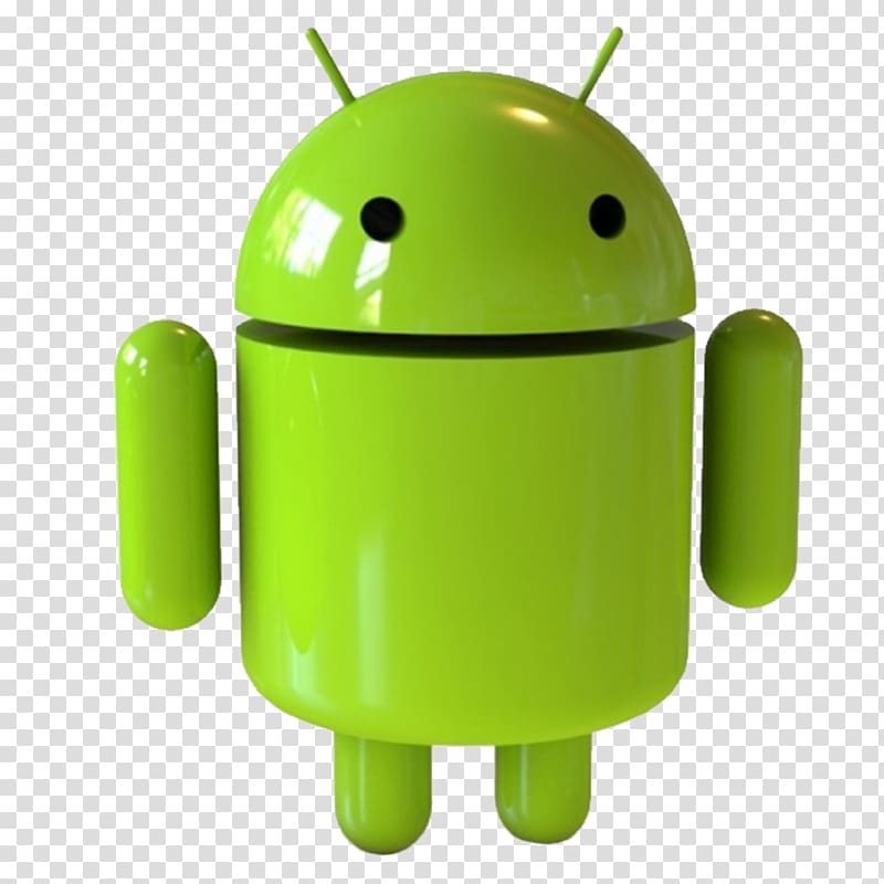 Android figurine illustration, Android Application software.