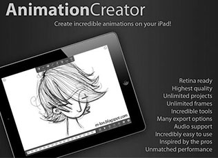 3D Animation Apps Software for iOS, iPhone, iPad, Android.