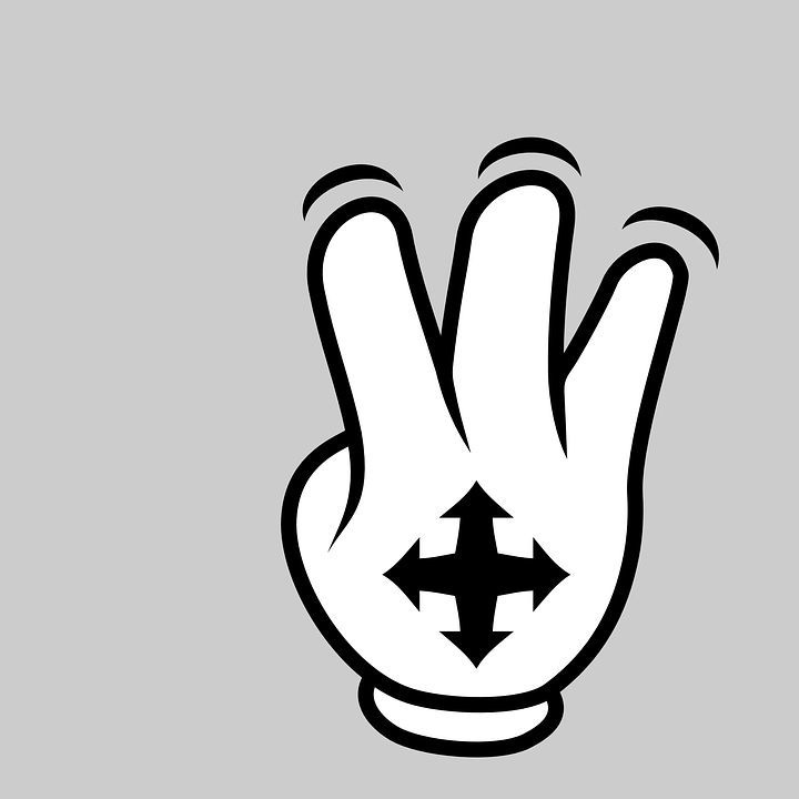 Free vector graphic: Hand, Finger, Gesture, Indication.