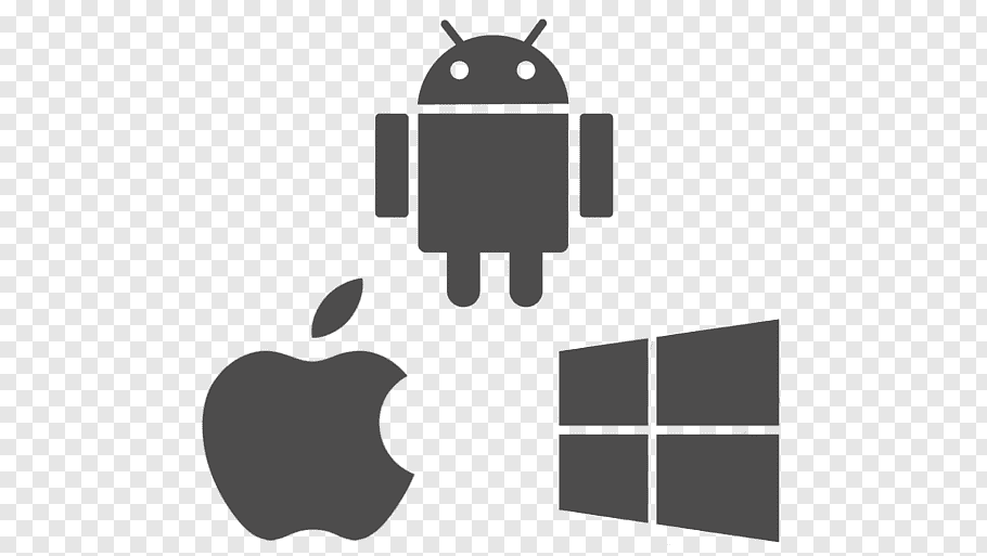 Android, Apple, and Windows s, Web development Android.