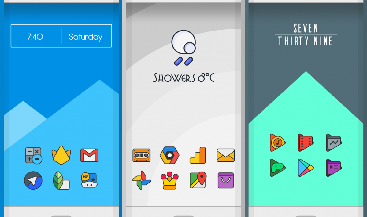 Top 10 Icon Packs for Android.