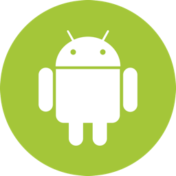 Android Icon Flat.