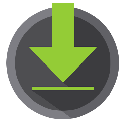 Downloads Icon Android Kitkat PNG Image.