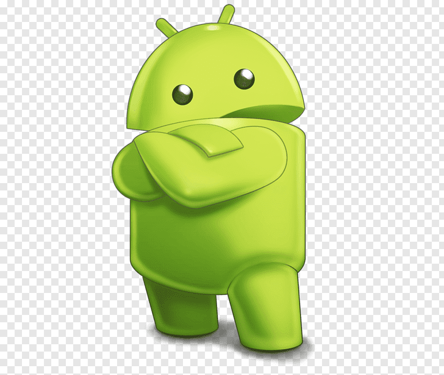 Android logo, Android Robot Sideview Character free png.