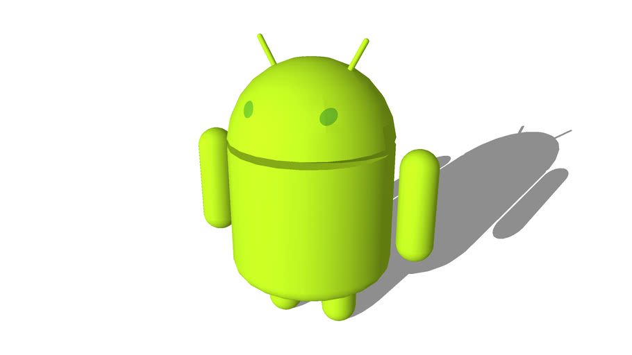 3D Android Logo.