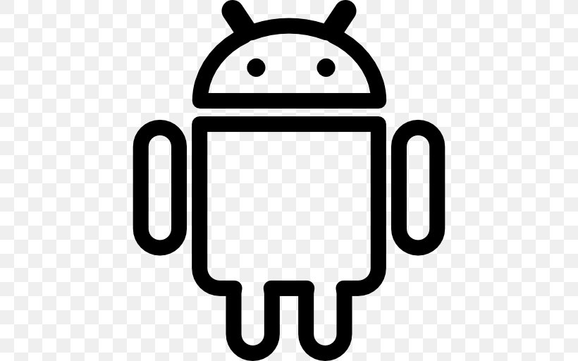 Android, PNG, 512x512px, Android, Area, Black, Black And.