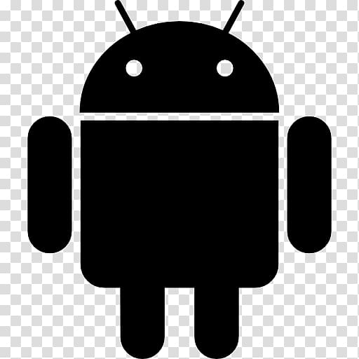 Android software development Logo, character graphic symbol.