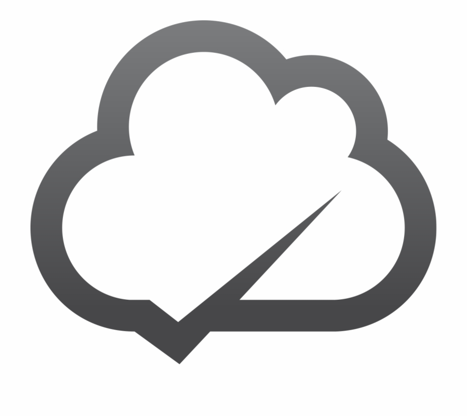 Cloud Notification Icon.