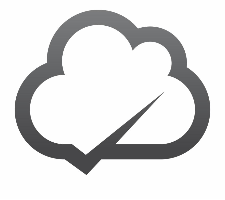 Cloud Notification Icon.