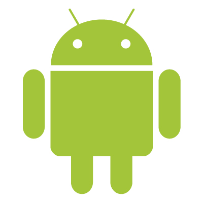 Android robot logo vector free download.