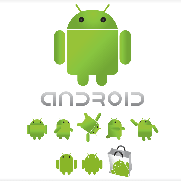 Free Android Logo Vector.