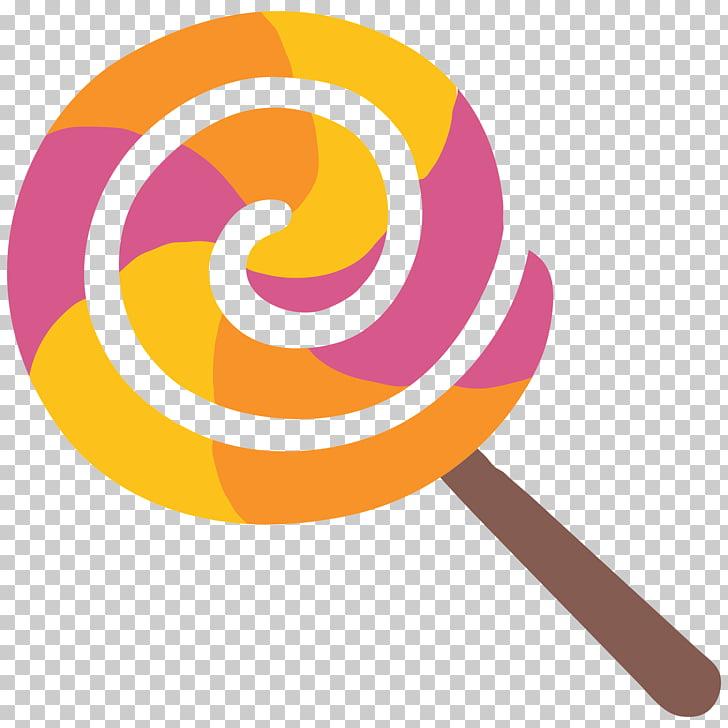 Lollipop Emoji Candy Android, lollipop PNG clipart.