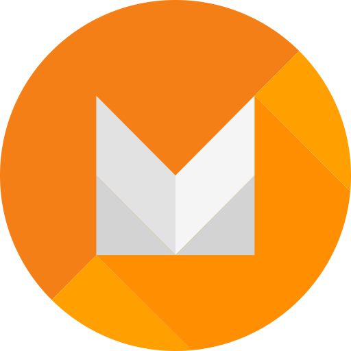 Android, android m, google, marshmallow, os, smartphone icon.