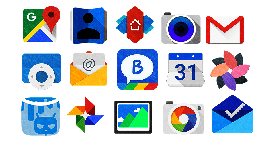 Best new icon packs for Android (September 2015) #2.