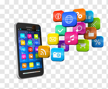 Mobile Apps Icon cutout PNG & clipart images.