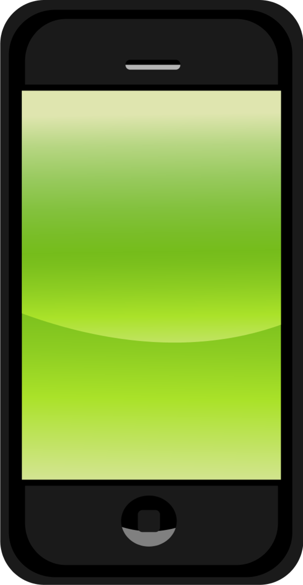 Oppo N1 Android Smartphone Clip art.