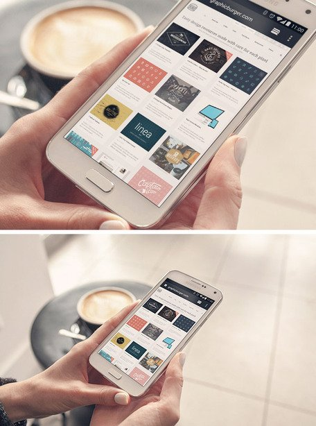 Free Android Phone PSD MockUps Clipart and Vector Graphics.