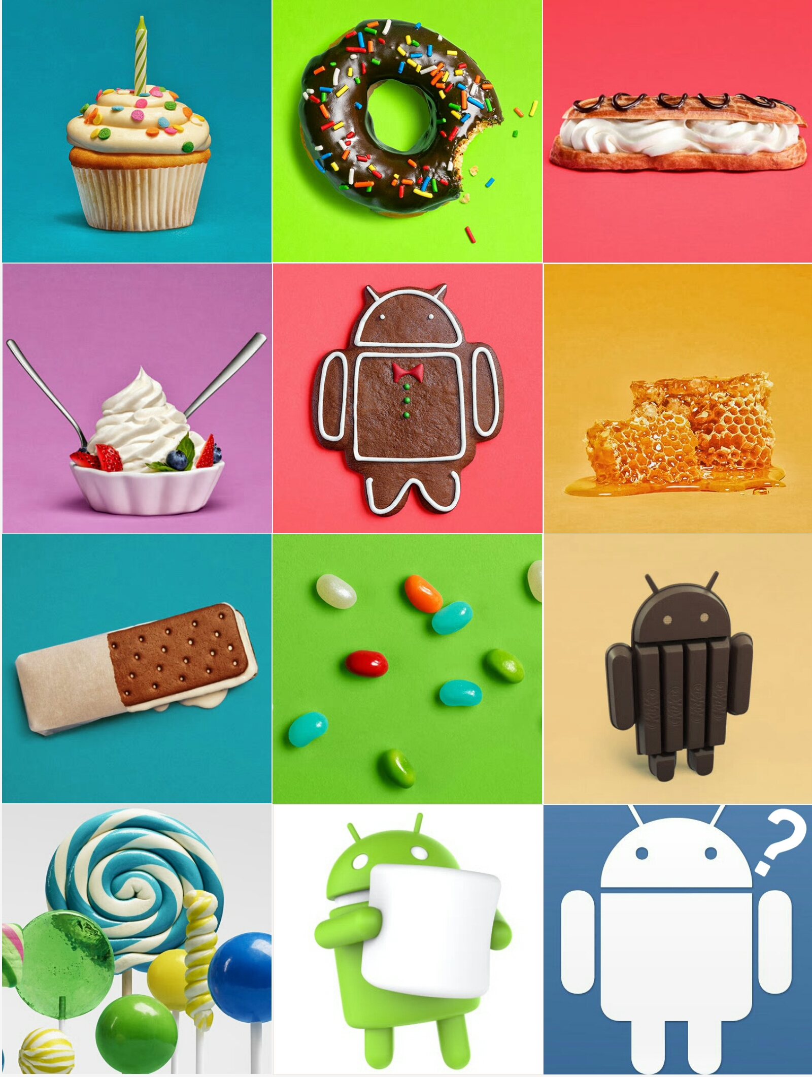 Android M's name is Marshmallow. Name of Android N? Comment.