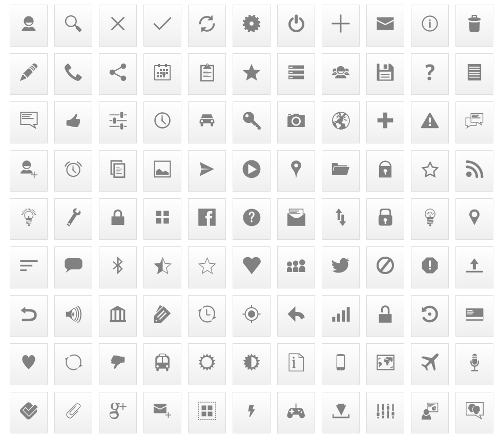 11 Free Mobile Icon Sets to Use in Your App.
