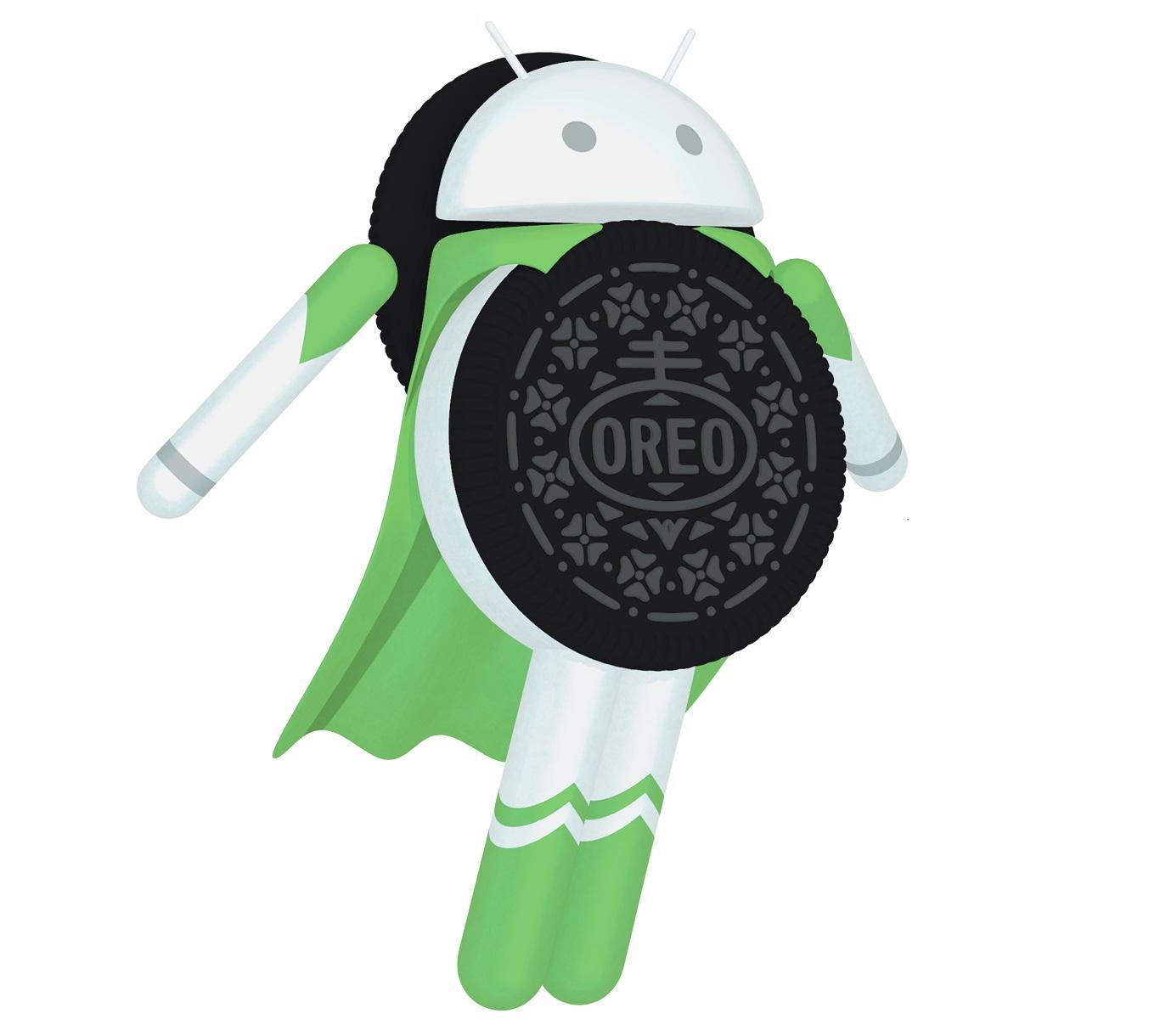 Android oreo Logos.