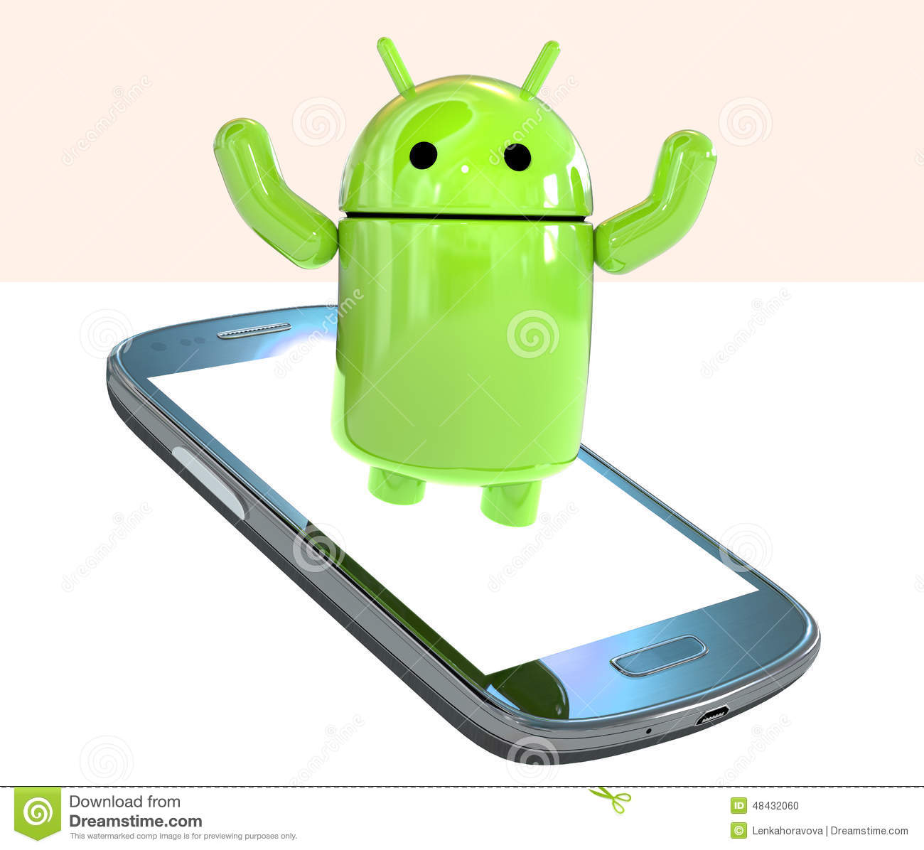 Android 3d clipart download.