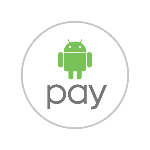 Android Pay logo vector in .eps, .ai and .png format.