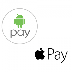 Apple or Android Pay Logo.