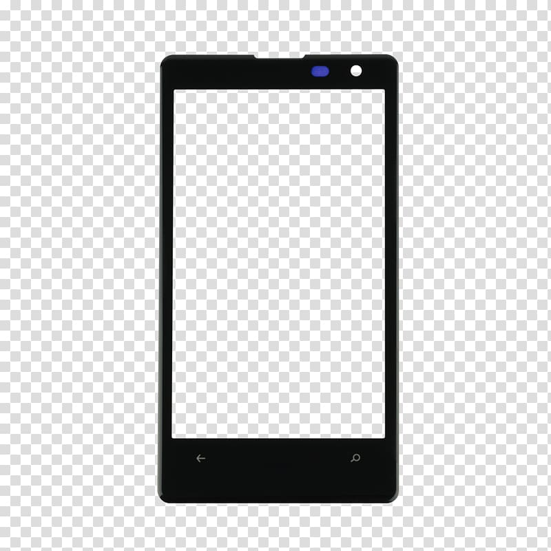 Mockup Smartphone iPhone Android, smartphone transparent.