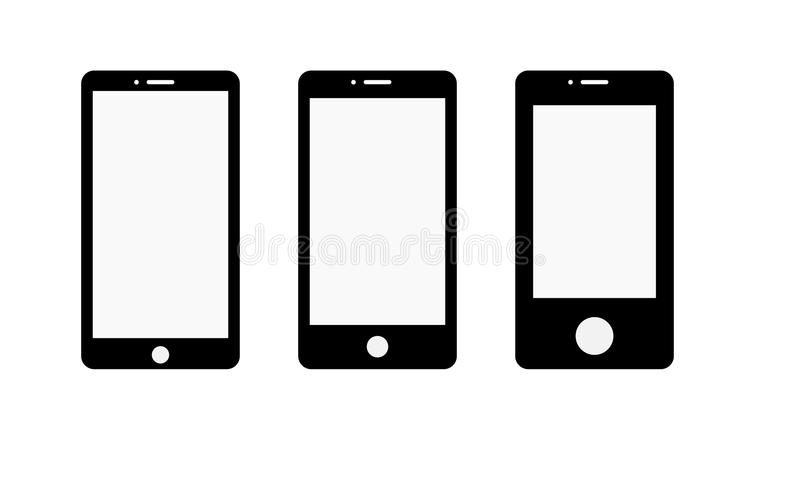 Android Phone Stock Illustrations.