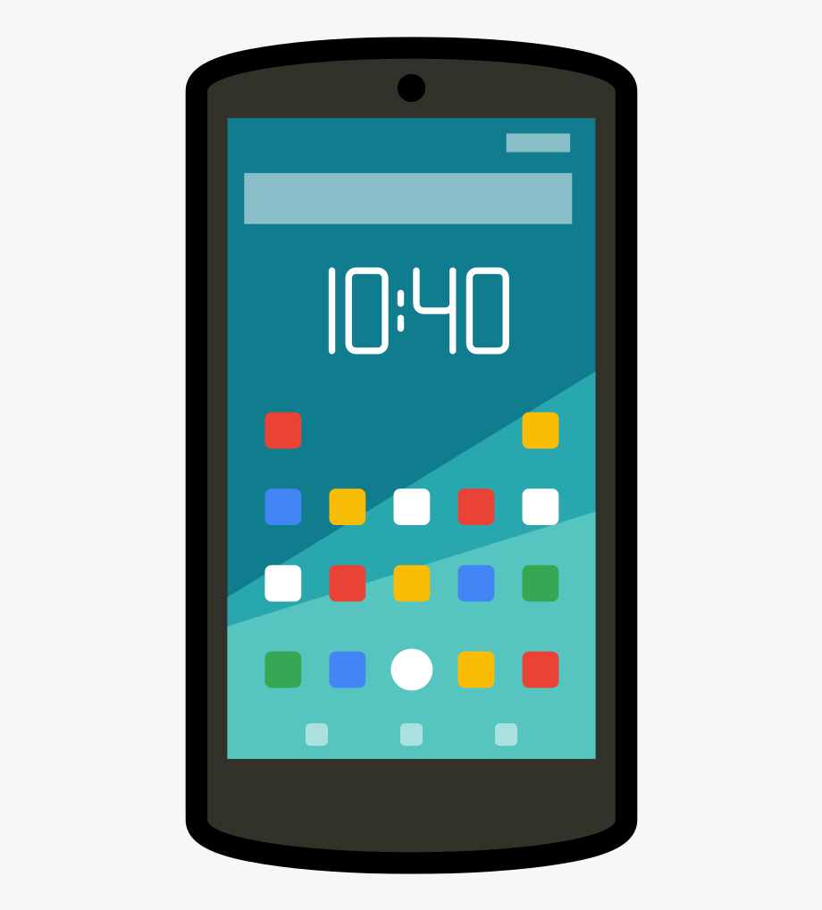 Cell Phone Clipart Android.