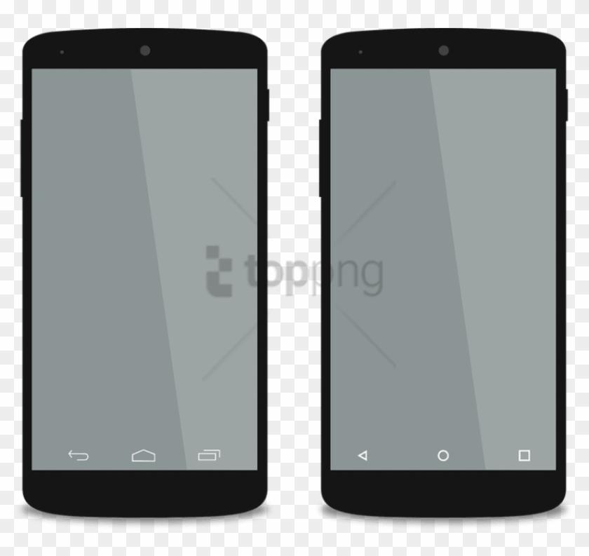 Android Smartphones Mockups.