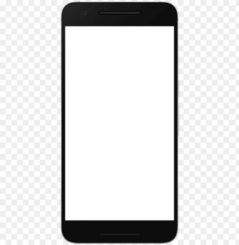 android phone frame hd PNG image with transparent background.