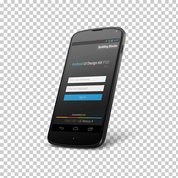 Android Mockup User interface design, ui, black Android.