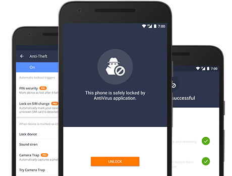 Free Antivirus for Android.