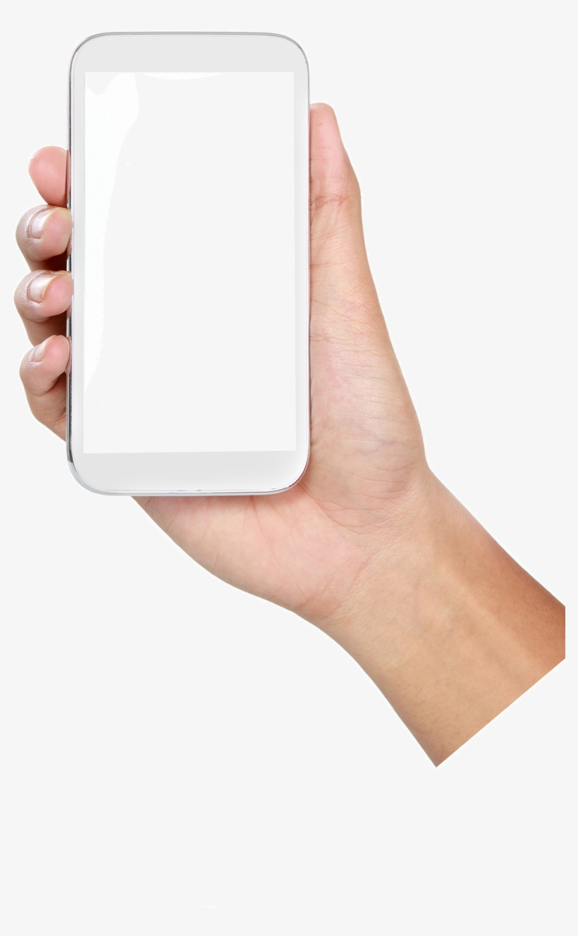 Package Mobile App Phone Cell Application Holding.