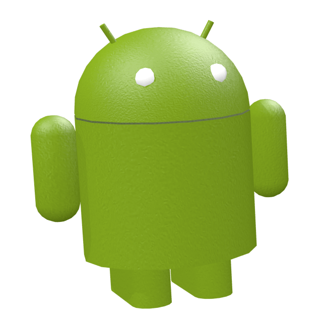 Android Toy Green transparent PNG.