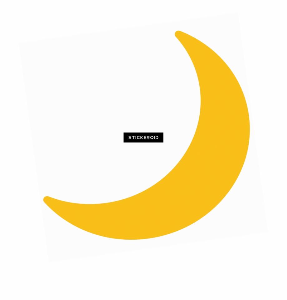 Half Moon Emoji Png , Png Download.